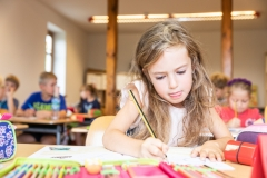 DEU, Jena, 2018, Evangelische Grundschule Jena-Kunitz, Copyright: Fred Dott, Hamburg, www.freddott.de